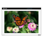 """Monarch Butterfly 17"""" Laptop For Mac & PC Skin Laptop Decals"""