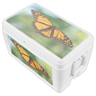 Monarch Butterfly, 48 Quart Duo Deco Cooler