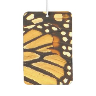 Monarch Butterfly Abstract Air Freshener