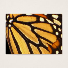 Monarch Butterfly Abstract Atc Business Card at Zazzle