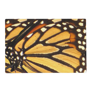 Monarch Butterfly Abstract Laminated Placemat