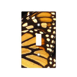 Monarch Butterfly Abstract Light Switch Cover