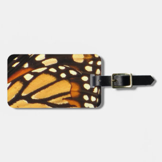 Monarch Butterfly Abstract Bag Tag