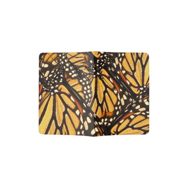 Monarch Butterfly Abstract Passport Holder