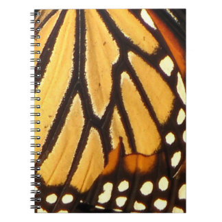 Monarch Butterfly Abstract Spiral Notebook