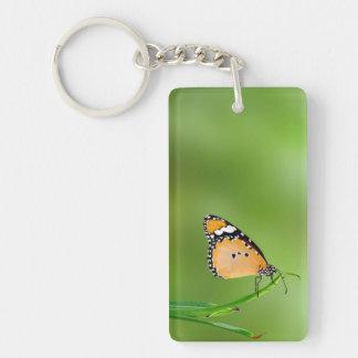 Monarch Butterfly Acrylic Key Chain