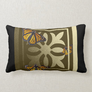 Monarch Butterfly American MoJo Lumbar Pillow