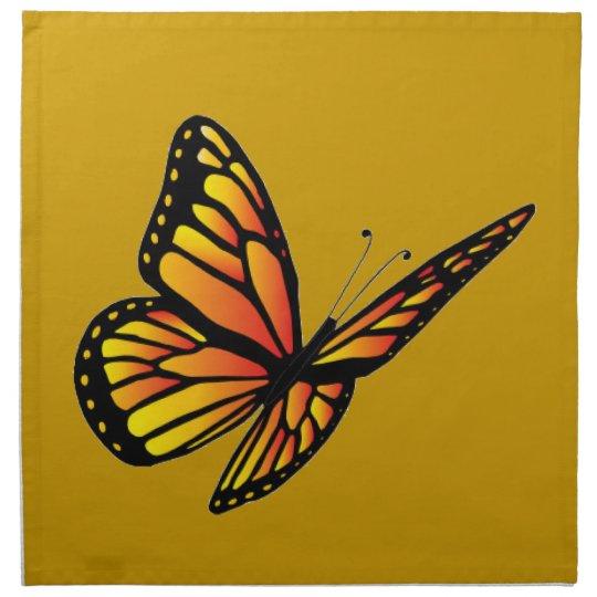 Monarch butterfly American MoJo Napkin