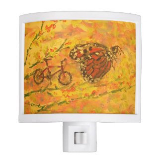 monarch butterfly and bicycle nite lights
