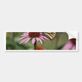 Monarch Butterfly and Black Eyed Susan Bumper Sticker