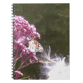 Monarch Butterfly and Milkweed Notebook