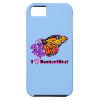 Monarch Butterfly and Starflowers iPhone 5 Case