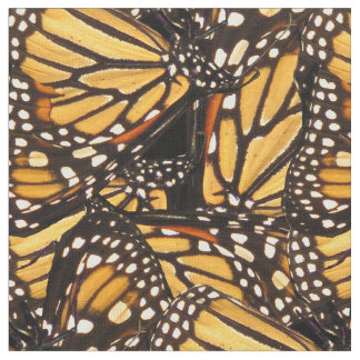 Monarch Butterfly Animal Abstract Pattern Fabric