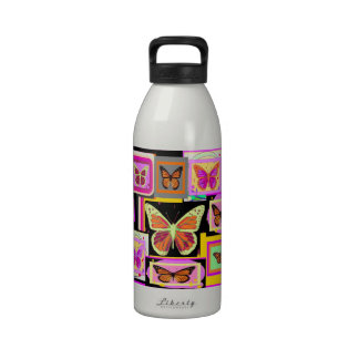 Monarch Butterfly Art Collection by Sharles Water Bottle