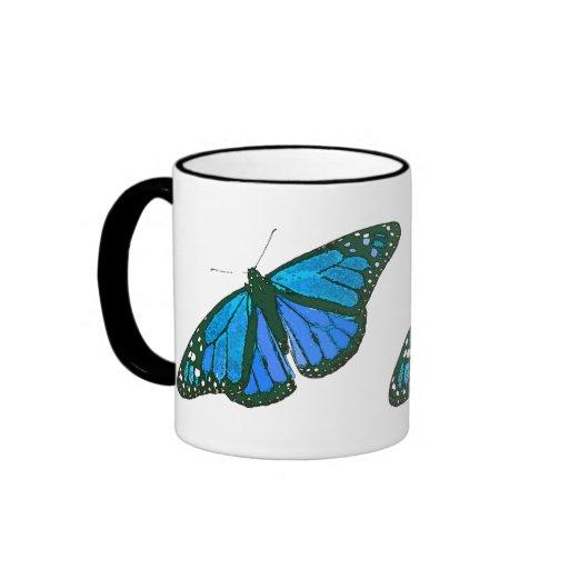 Monarch Butterfly Art Mug