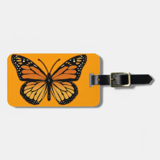 Monarch Butterfly Bag Tag