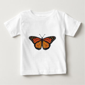 Monarch Butterfly Bedazzled Baby T-Shirt