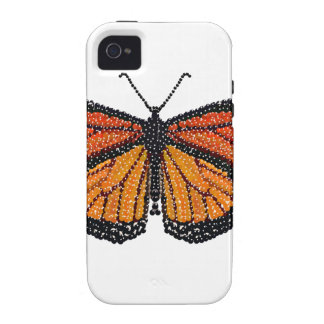 Monarch Butterfly Bedazzled iPhone 4 Cover