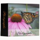 Monarch Butterfly Binder