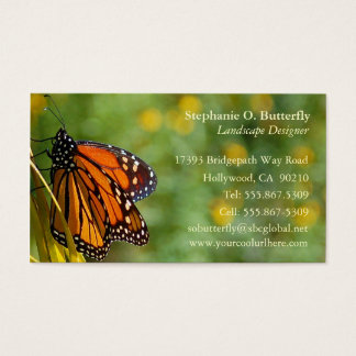 Monarch Butterfly Business Card 3