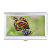 Monarch Butterfly Business Card Holder