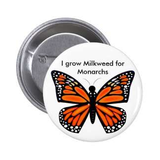 Monarch Butterfly Buttons