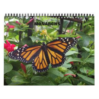 Monarch Butterfly Calendar