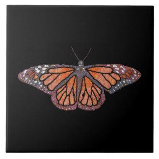 Monarch Butterfly Ceramic Tile
