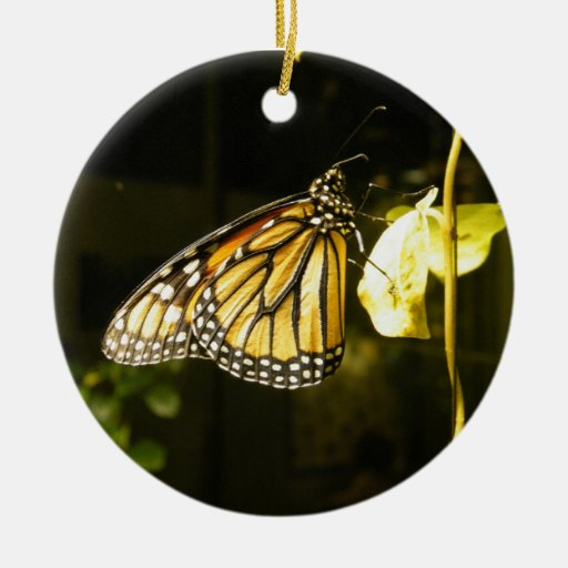 Monarch Butterfly Christmas Tree Ornament