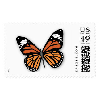Monarch Butterfly Colorful Spring Summer Butterfly Postage Stamps