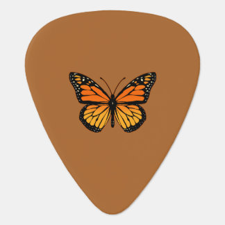 Monarch Butterfly Colors Guitar Pick