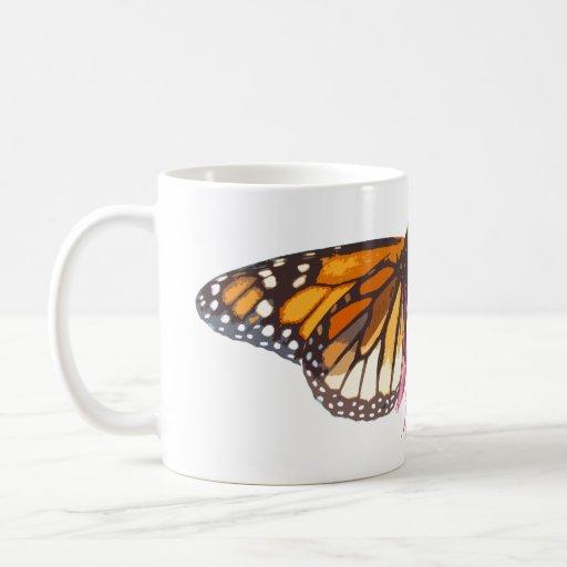Monarch Butterfly & Coneflower Mug