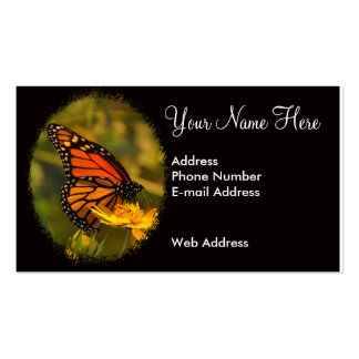 Monarch Butterfly Customize Your Own Pack Of Standard Business Cards