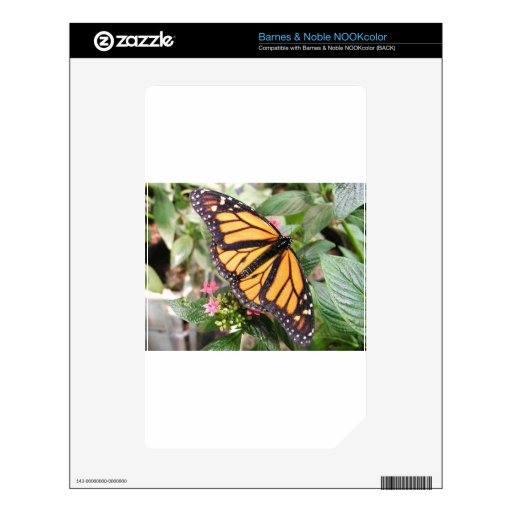 Monarch Butterfly Decals For NOOK Color
