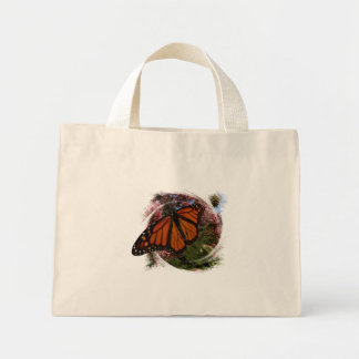 Monarch Butterfly Design Canvas Bags