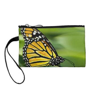 Monarch Butterfly Design Coin Purse