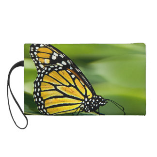 Monarch Butterfly Design Wristlet