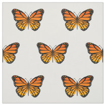 Monarch Butterfly Fabric
