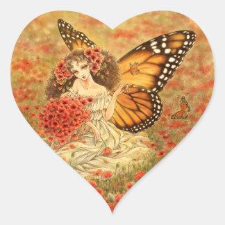 Monarch Butterfly Fairy Sticker