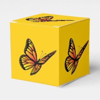 Monarch Butterfly Favor Box