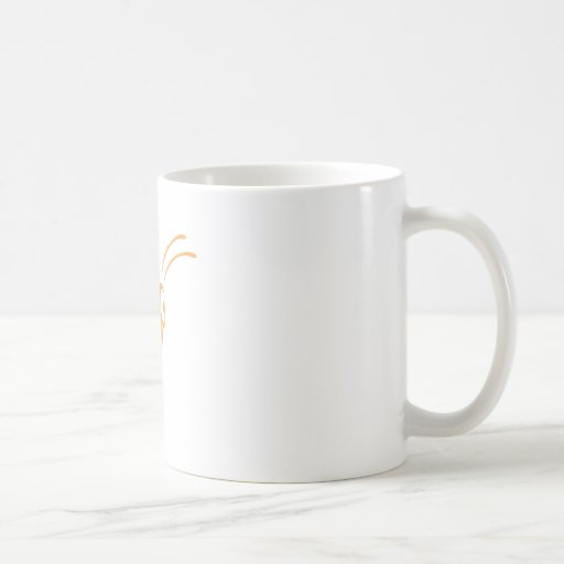 Monarch Butterfly Flying in Swish Drawing Style Classic White Coffee Mug