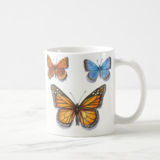 Monarch Butterfly & Friends Coffee Mug