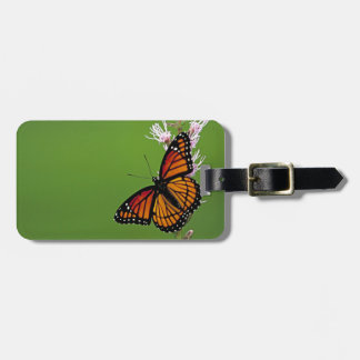 Monarch Butterfly Gradient Bag Tag