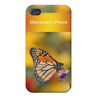 Monarch Butterfly In Search of Pollen Cases For iPhone 4