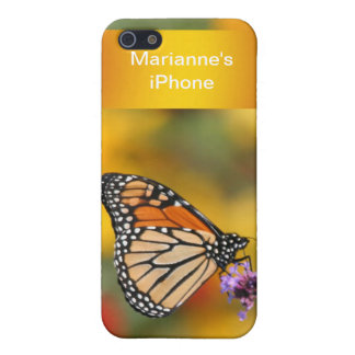 Monarch Butterfly In Search of Pollen Cover For iPhone SE/5/5s