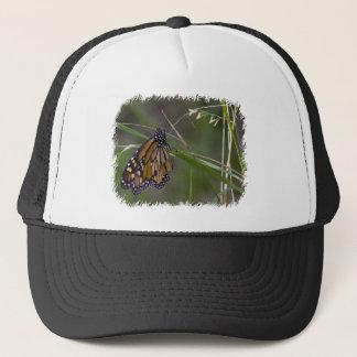 Monarch Butterfly in the Grass Trucker Hat