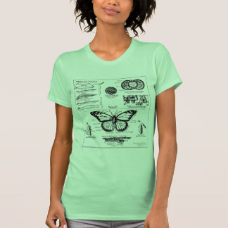 Monarch Butterfly Information T Shirt
