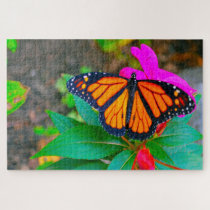 Monarch Butterfly. Jigsaw Puzzle