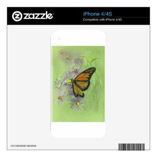 Monarch Butterfly jpg iPhone 4 Skins