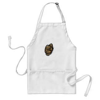 Monarch Butterfly , Just Landed Adult Apron